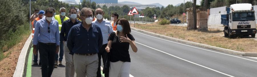 La Diputación renueva el acceso de Navajas por 745.000 euros y elimina uno de los puntos negros de la red vial provincial