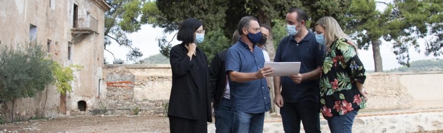 La Diputación acomete la limpieza y el mantenimiento de la Cartuja de Valldecrist en Altura para incrementar su potencial turístico