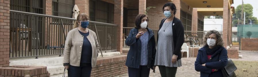 La Diputació adapta amb 45.000 euros el centre de dia de xiquetes i xiquets amb autisme de Castelló a les normatives d'accessibilitat i seguretat contra incendis