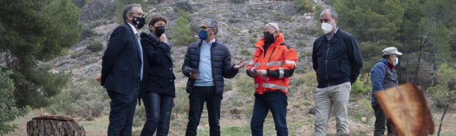 José Martí anuncia que la Diputación y la Generalitat avanzan en la profesionalización de las brigadas de mitigación de riesgos por incendios forestales