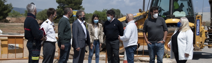 La Diputación invertirá 2 millones de euros en la construcción del nuevo parque de Bomberos de Orpesa