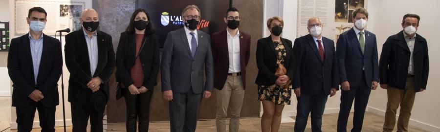 L'Alcora abre las puertas del primer tramo rehabilitado de la Real Fábrica con el apoyo de la Diputación