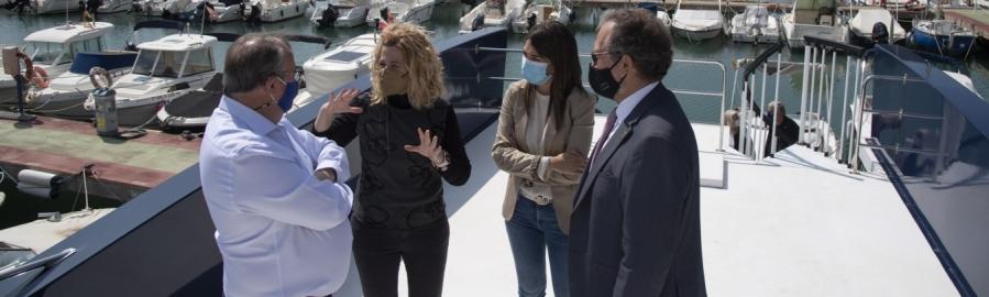 La Diputación de Castellón apoya con 200.000 euros al Club Náutico de Orpesa para la adquisición de dos barcos escuela
