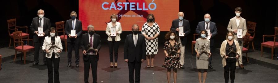 """José Martí ensalza en el Día de la Provincia la """"gratitud"""" de todos los castellonenses al trabajo desarrollado por el colectivo sanitario durante la pandemia"""