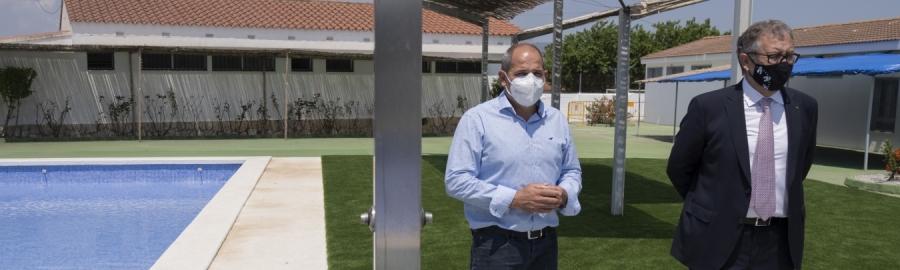 José Martí es compromet a assistir a la inauguració de la Fira de la cirera de 2022 de la Salzadella si remet la pandèmia i es pot celebrar