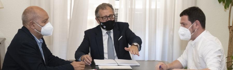 José Martí e Ignasi Garcia celebran la complicidad de la Generalitat Valenciana con el Plan Director del Agua de la provincia de Castellón