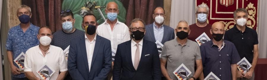 La Diputació ret homenatge per la seua jubilació a dotze bombers del Consorci Provincial