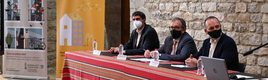 José Martí aplaudeix les ajudes de la Generalitat a l'habitatge a l'interior per ser imprescindibles per a la lluita contra la despoblació