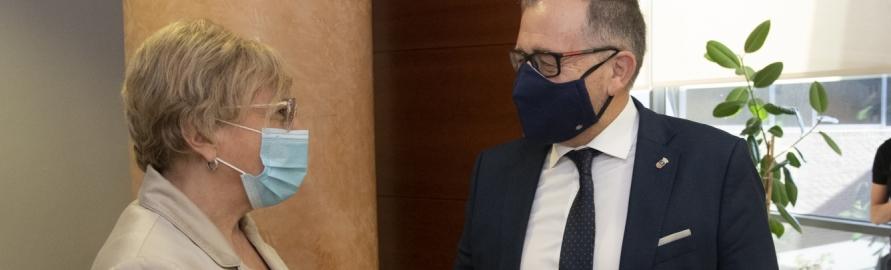 José Martí destaca que la Generalitat Valenciana ha invertit prop de 30 milions d'euros a l'Hospital Provincial per a adquirir nous equips dotats amb alta tecnologia