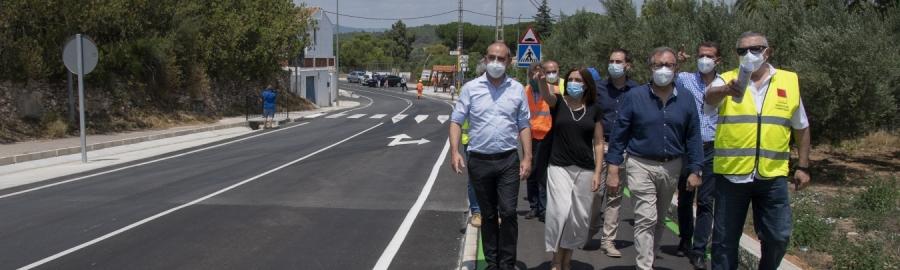 La Diputació de Castelló projecta per a finals d'estiu la millora de la carretera de Miravet entre Cabanes i Orpesa