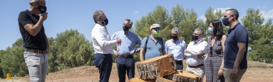 La Diputación y la Generalitat invierten 2 millones de euros para activar 13 brigadas de mitigación destinadas a la prevención de incendios en la provincia de Castellón