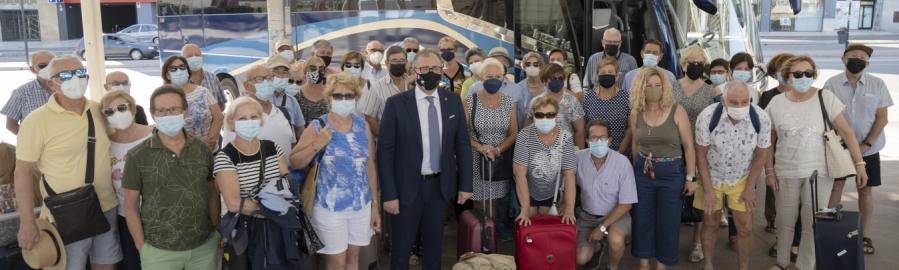 José Martí celebra la vuelta sin incidencias de 'Castellón Sénior' y recuerda que sigue abierto el plazo de inscripción para viajar tras el verano