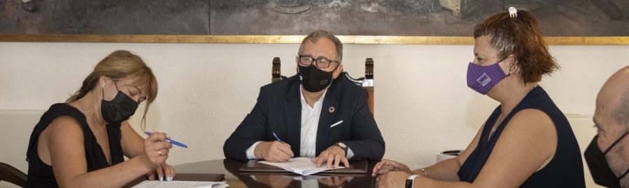 La Diputación de Castellón avala el trabajo de Aspas en favor de la comunidad sorda con un convenio de 14.250 euros