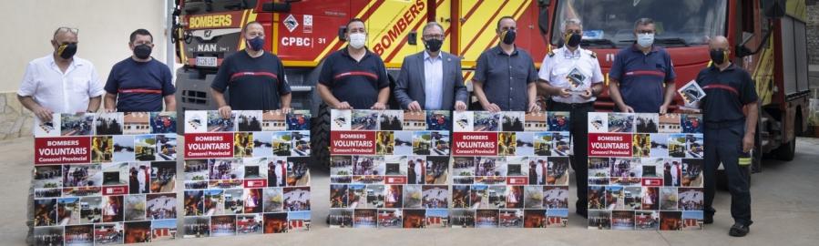 """José Martí destaca el """"trabajo excepcional"""" de los bomberos voluntarios de los cinco parques de la provincia por preservar el entorno natural de Castellón"""