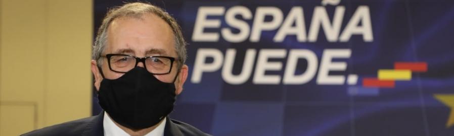 José Martí aplaude la llegada del primer tramo de 9 mil millones de fondos europeos a España y reivindica la Diputación como administración gestora
