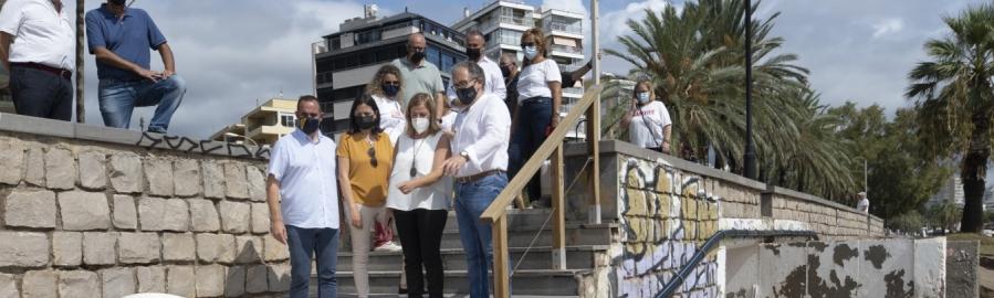 José Martí afirma que les diferents administracions treballen de manera coordinada perquè els turistes puguen continuar gaudint al setembre de les platges de Benicàssim
