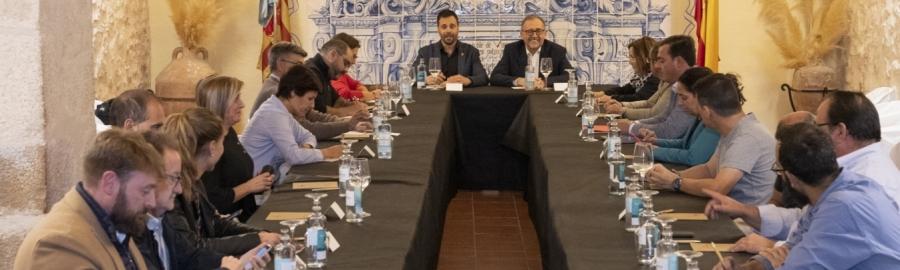 José Martí realitzarà sis reunions comarcals amb alcaldesses i alcaldes de la província prèvies a l'elaboració dels pressupostos de 2022