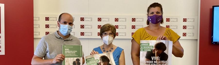 La Diputació se suma a la lluita contra el suïcidi amb unes jornades de conscienciació de la mà de El Teléfono de la Esperanza