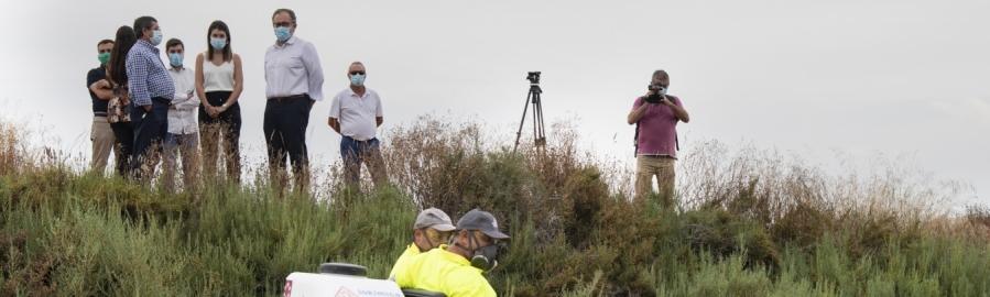 La Diputación de Castellón activará mañana las fumigaciones aéreas contra los mosquitos