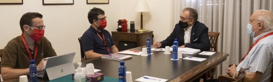 José Martí ensalza el trabajo de Cruz Roja de Castellón para atender el incremento de las incidencias sociales a raíz de la pandemia por la Covid-19