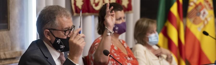 El ple de la Diputació insta per consens al Govern a declarar Zona Greument Afectada per Emergències a Benicàssim, Vinaròs i Càlig